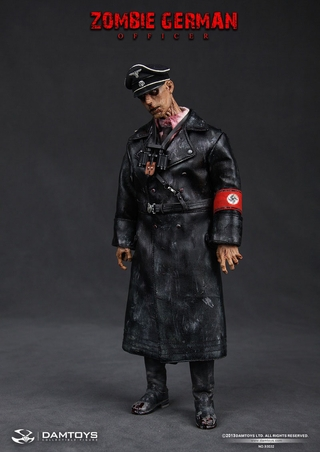 Zombie German Officer 1:6 Scale Figure
