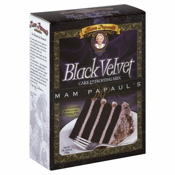 Mix Cake Velvet Black W Frstng (Pack of 6)