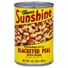 Sunshine Bean Black Eye Pea With Pork 15.5-Ounce (Pack of 24)