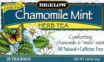 Tea Herb Chamomile Mint (Pack of 6)
