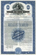 Chicago & North Western RW Bond 1939