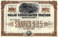 Dallas Consolidated Traction RW Stock 189_