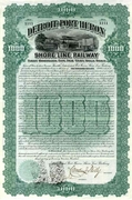 Detroit & Port Huron Shore Line RW Bond 1900