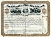 Housatonic RR Bond 1882