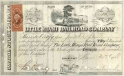 Little Miami RR Stock 1868