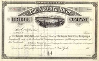 Niagara River Bridge Co Stock 188_