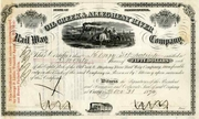 Oil Creek & Allegheny River RW Stock 1870