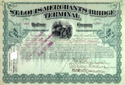 St Louis Merchants Bridge Terminal RW Stock 1893