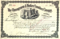 Thompson & Tucker Lumber Stock 1903