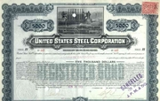 US Steel Corporation Bond issued to Andrew Carnegie 1901