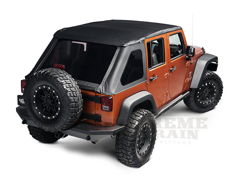 2013 jeep wrangler unlimited sahara black soft top bestop trektop nx. Cars Review. Best American Auto & Cars Review