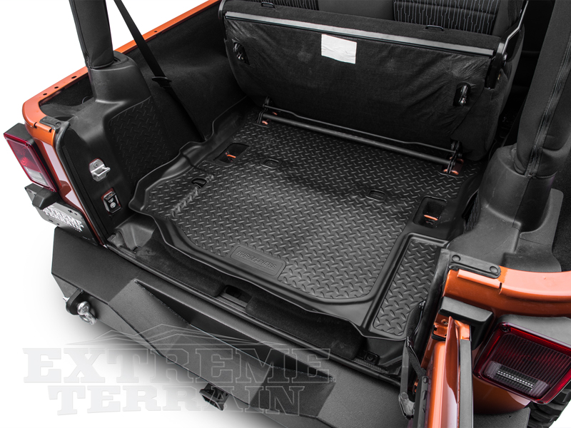 Cargo Liner From Canvasback For Jeep Jk Unlimited Wrangler