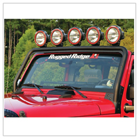 Jeep JK Light Bars (2007-2014 Wrangler)