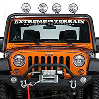 Jeep JK Light Bars (2007-2015 Wrangler)