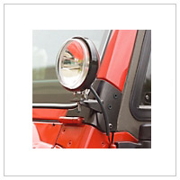 Jeep TJ Body Light Mounts (1997-2006 Wrangler)