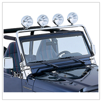 Jeep TJ Light Bars (1997-2006 Wrangler)