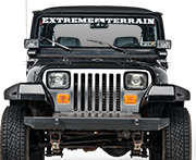 Jeep YJ Cab Covers & Emergency Tops (1987-1995 Wrangler)