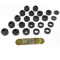 Jeep YJ Bushings & Body Mounts (1987-1995 Wrangler)