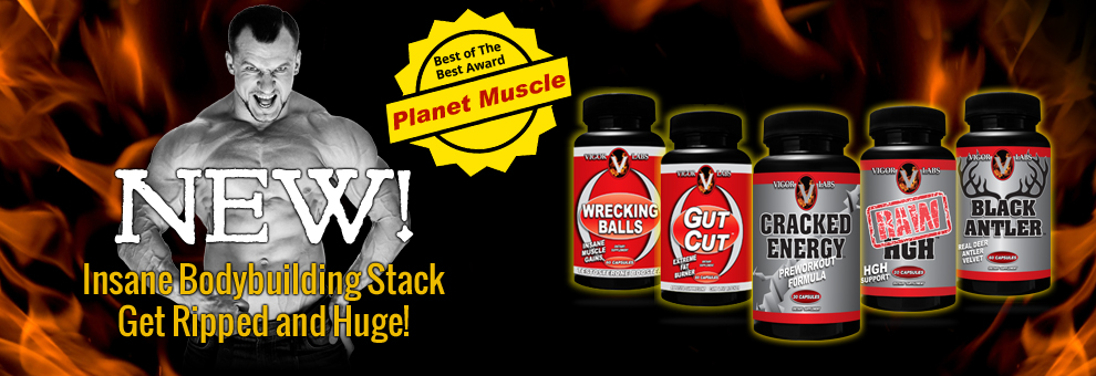 Vigor Labs Insane Bodybuilding Stack!