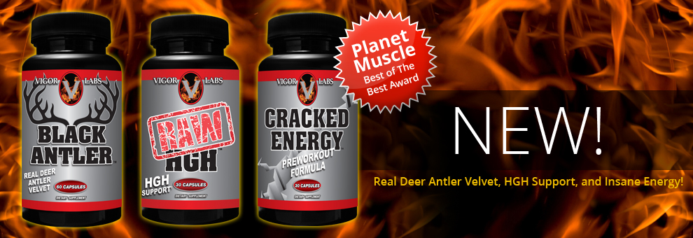 Black Antler Deer Antler Velvet, Raw HGH, Cracked Energy Preworkout