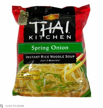 Thai Kitchen: Instant Rice Noodles Soup Spring Onion, 1.6 oz