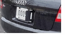 Anti Photo Radar License Plate Number Blocker Shield