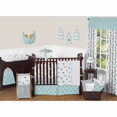 Earth and Sky Crib Bedding Collection