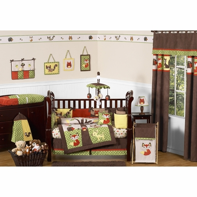 Forest Friends Crib Bedding Collection