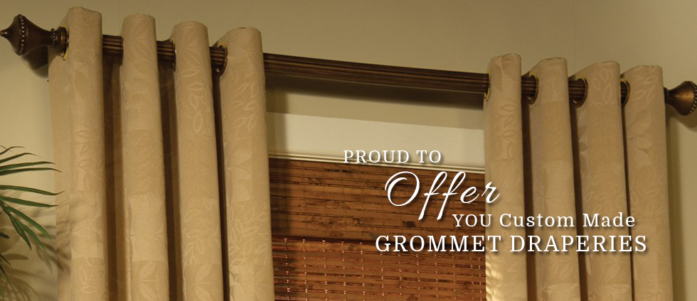 Custom Made Grommet Draperies