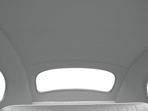 1947-1952 Volkswagen Beetle with Solid Roof Headliner, VW2