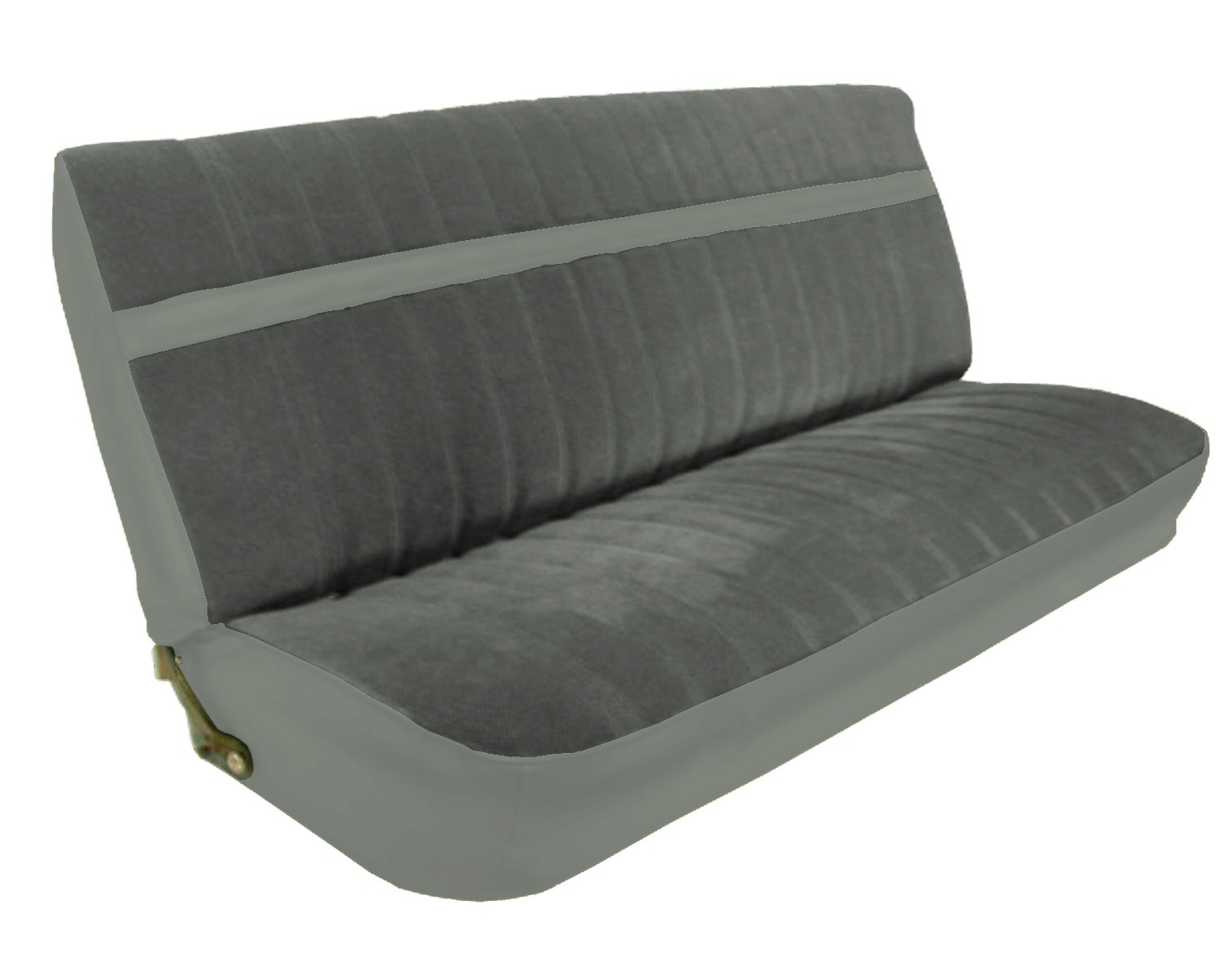 /GMC Standard Cab Pickup Front Bench Seat Upholstery Kit U1002. Full resolution  photo, nominally Width 1500 Height 1200 pixels, photo with #594E28.