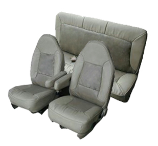 1992 1996 Ford Bronco Front Buckets And Rear Bench Seat
