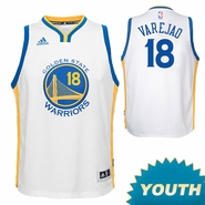Anderson Varejao Youth Jersey: adidas Home Swingman #18 Golden State Warriors NBA Jersey - White