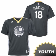 Anderson Varejao Youth Jersey: adidas Slate Swingman #18 Golden State Warriors NBA Jersey