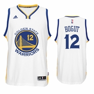 Andrew Bogut Jersey: adidas White Swingman #12 Golden State Warriors Jersey