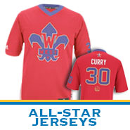 Golden State Warriors adidas Steph Curry 2014 All-Star Jersey-Replica - Click to enlarge