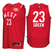 Draymond Green Jersey: adidas 2016 NBA All-Star #23 Western Conference Swingman Jersey - Red