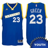 Draymond Green Youth Jersey: adidas Stretch Crossover #23 Golden State Warriors Royal NBA Swingman Jersey