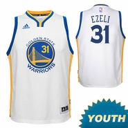 Festus Ezeli Youth Jersey: adidas Home Swingman #31 Golden State Warriors NBA Jersey - White