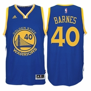 Harrison Barnes Jersey: adidas  Royal Blue Swingman #40 Golden State Warriors NBA Jersey