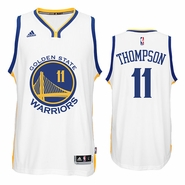 Klay Thompson Jersey: adidas  White Swingman #11 Golden State Warriors NBA Jersey