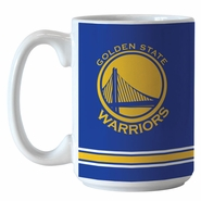 Golden State Warriors 14oz Sublimated Relief Mug