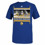 Golden State Warriors 2014 Adidas Boxed Out Tee - Blue