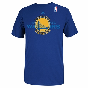 Golden State Warriors 2014 adidas Draft Potential Tee - Royal - Click to enlarge