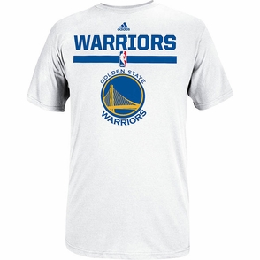 Golden State Warriors 2014 adidas Draft Team Outlet Tee - White - Click to enlarge
