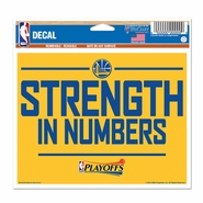 Golden State Warriors 2015 Multi-Use Playoff Slogan Decal - Will Ship 5/1