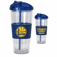 Golden State Warriors 2015 Playoff 20oz Straw Tumbler - Will Ship 5/1