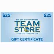 Golden State Warriors $25 Online Gift Certificate