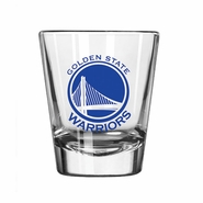 Golden State Warriors 2oz Game Day Shot Glass