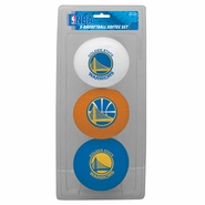 Golden State Warriors 3-Basketball Softee Set